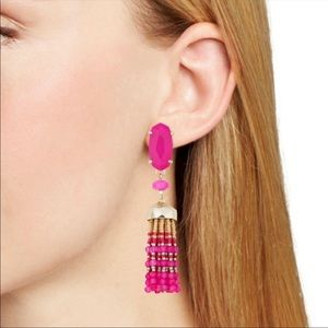 Kendra Scott | NWT Pink Dove Statement Earrings